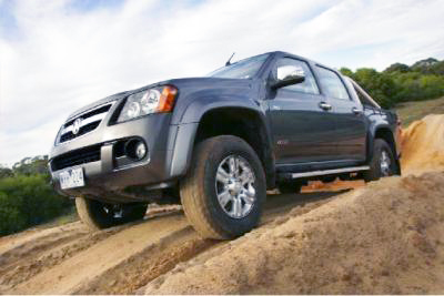 Have crew; will travel: Review the Holden Colorado - it can get you there.