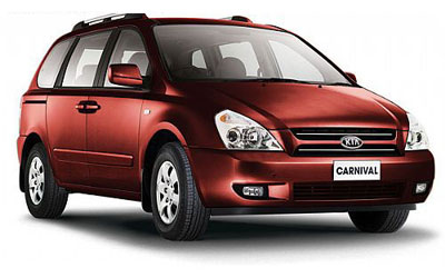 Not many vans look as good as the Kia Grand Carnival.