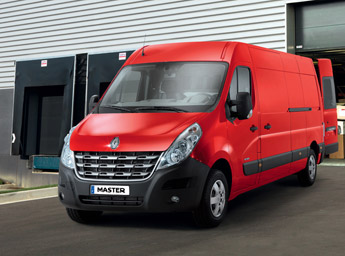 Classy on the inside and stylish on the outside: the Renault Master is a great van for making a statement of success.