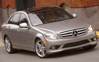 The looks of the Mercedes Benz C280 are matched by its on-road handling.