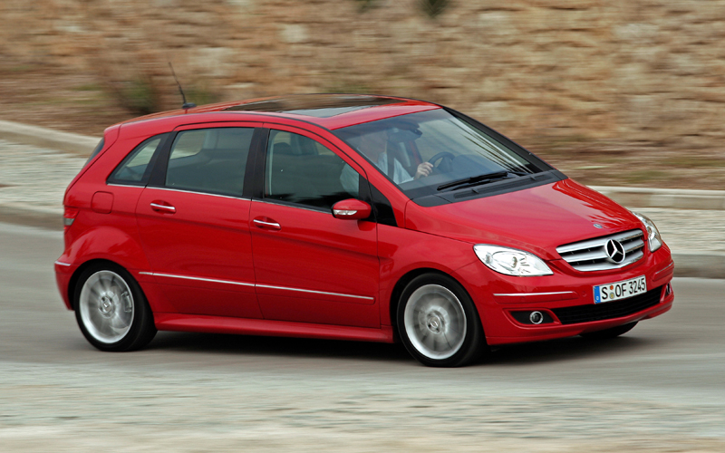 The Mercedes Benz B200 Turbo is a small car with a big heart under the stylish bonnet.
