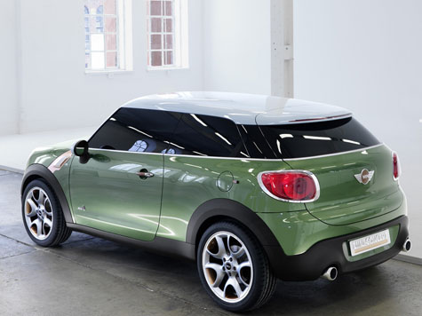 Striking design leaves Mini Paceman onlookers gaping.
