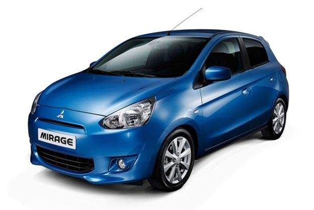 The Mitsubishi Mirage is a mini car that offers big space and excellent economy.