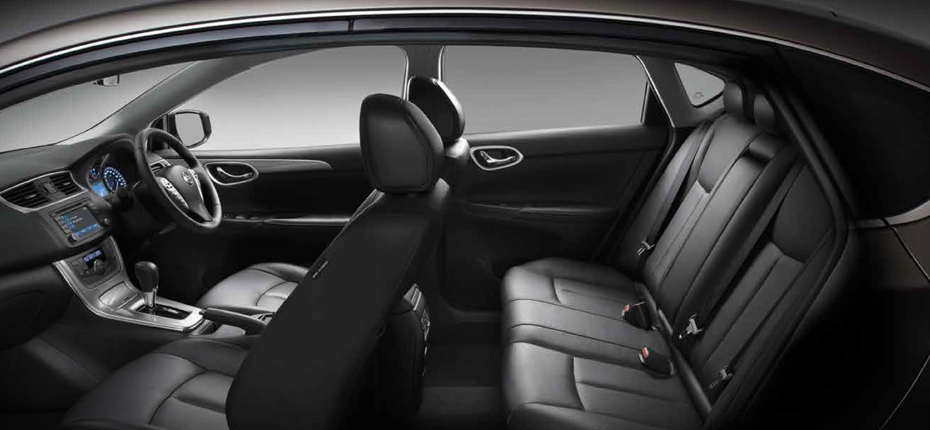 A luxurious and spacious Nissan Pulsar sedan sets the standards.