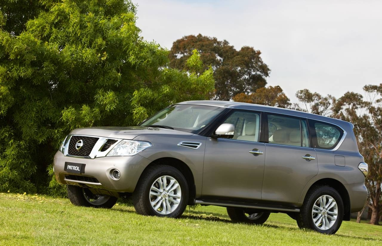 It's amazing how the big, tough new Nissan Patrol V8 can look so good.