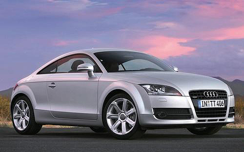 The Audi TT TDI simply exudes power and grace.