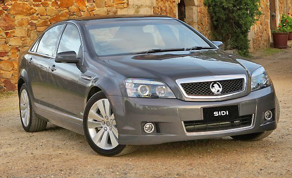 Holden Caprice combines elegance, sportiness and luxury into a very nice drive.