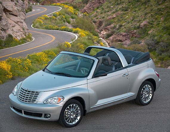 The Chrysler PT Cruiser Cabrio is one of the most eye-catching and distinctive cars on the road.