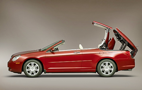 chrysler sebring cabrio review private fleet. Black Bedroom Furniture Sets. Home Design Ideas