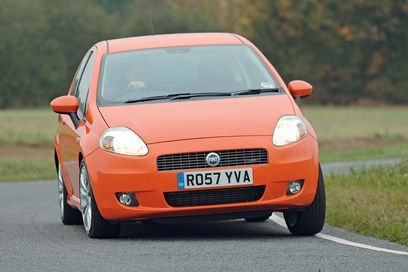 The styling of the Fiat Punto 1.4 T-Jet has been inspired by Maserati... and oozes style.