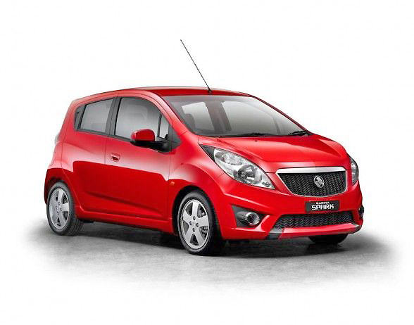 Holden Barina Spark Review Private Fleet