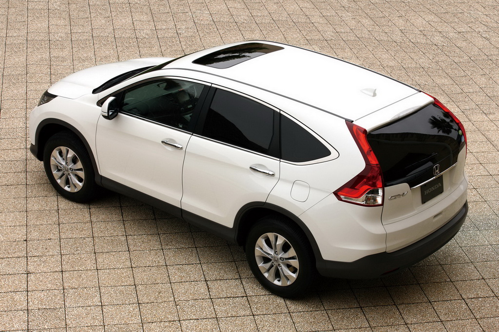 When you are blessed with talent and good looks, things get a whole lot easier. Honda's new CR-V 4WD has my big tick.