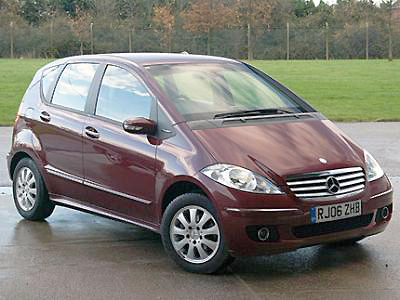 Mercedes benz a170 review private fleet for Mercedes benz gas chambers