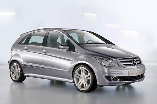 The Mercedes Benz B-class is a snazzy replacement for the older A-class.