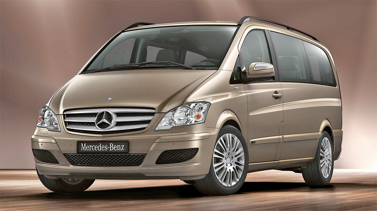 Facelifted and very striking, the Mercedes Benz Viano will impress.