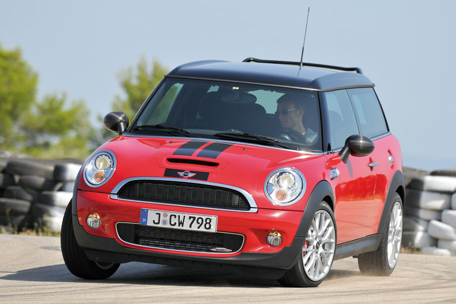 Doesn't the Mini JCW Clubman make you smile just to look at it - let alone drive it!