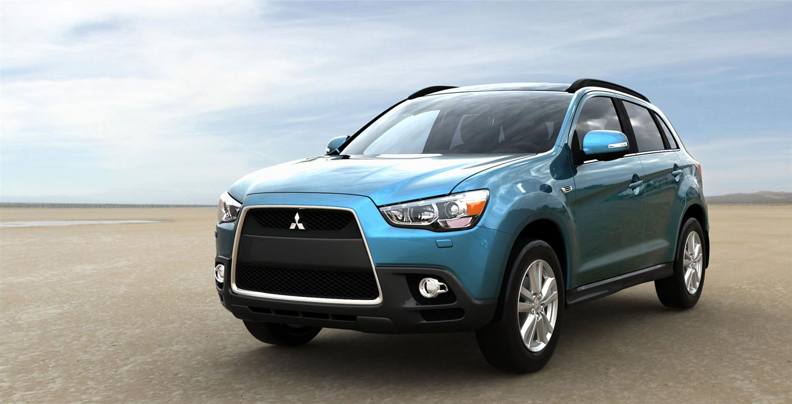 The Mitsubishi ASX combines SUV styling with handy compactness.
