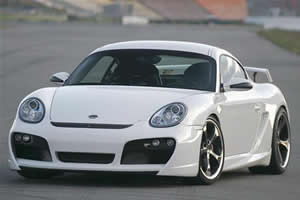The beautiful Porsche Cayman is one of the special models in the legendary German car maker.