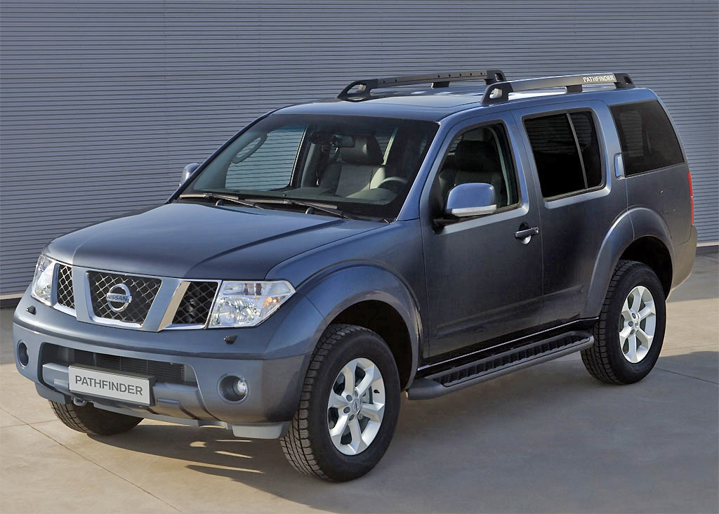 Striking in looks, and with top of the range power, the Nissan Pathfinder is one of the best seven-seater SUV vehicles.