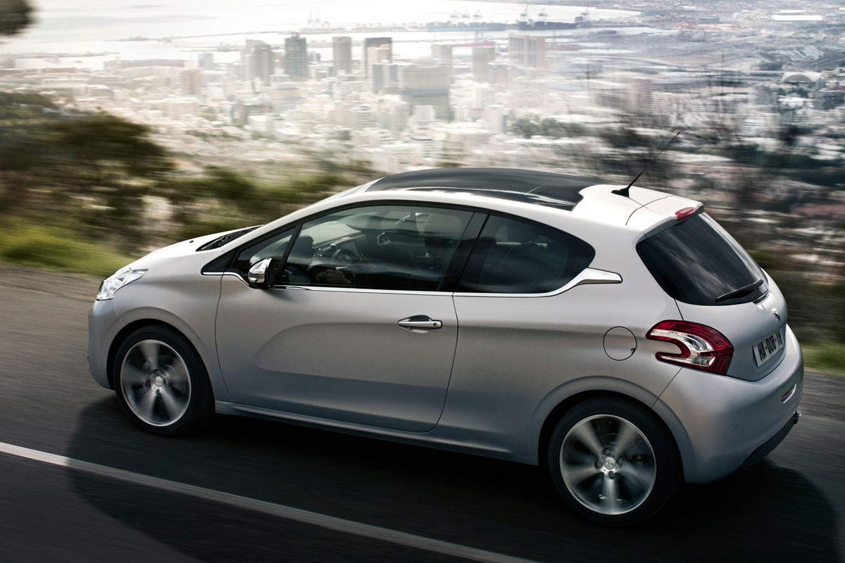 In the new Peugeot 208, the seat comfort is fantastic; they have just the right amount of softness combined with support.