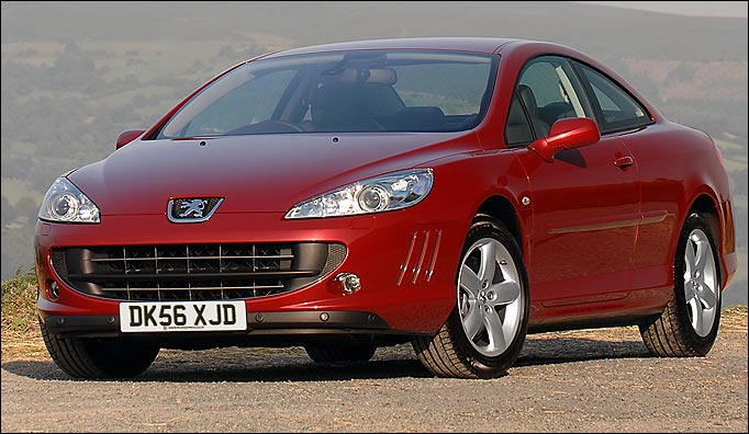 peugeot 407 coupe review private fleet. Black Bedroom Furniture Sets. Home Design Ideas