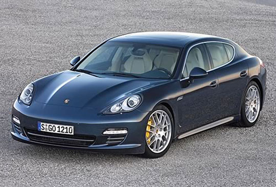 The Porsche Panamera has the classic Porsche lines and style, and the performance to match.