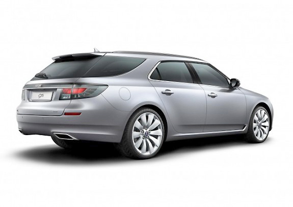 Here's a sporty wagon for Australia: the new Saab 9-5 SportCombi.
