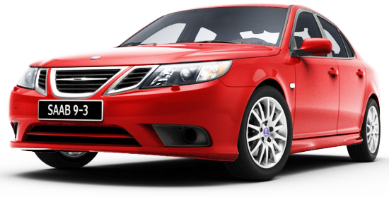 The Saab 93 Sport Sedan looks hot - it is hot!