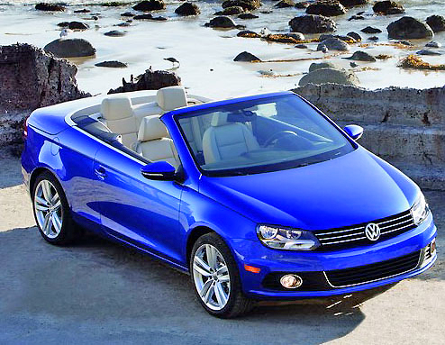 It's about as nice as they come. Open top touring at its best in the new Volkswagen Eos.