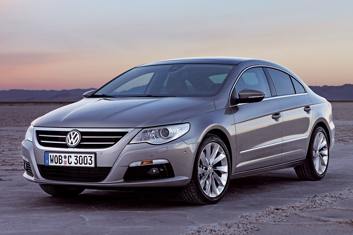 The Volkswagen Passat CC looks poised and ready for action, as well as stylish.