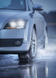 Aquaplaning defined