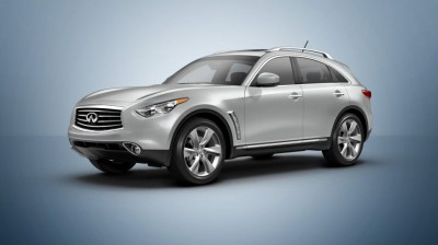 New for 2014 is the great driving Infiniti QX70.