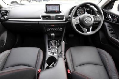 Mazda3 Sedan interior