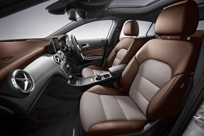 Mercedes Benz GLA-Class interior