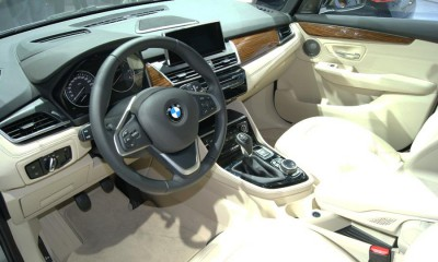 BMW 2 Active Interior