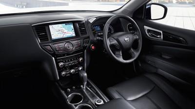 2014 Nissan Pathfinder dashboard