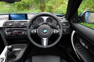 BMW 4 Series Convertible Interior