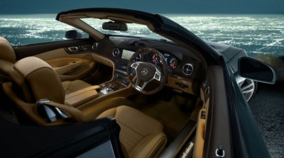 Mercedes Benz SL Roadster Interior
