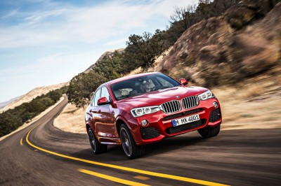 BMW X4 2014 coupe look