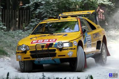 Dakar Rally Peugeot 405