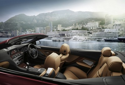 BMW 6 Convertible Interior