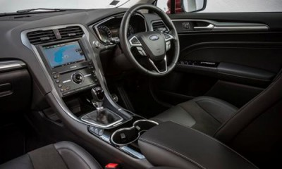 Ford Mondeo TDCi Diesel Interior