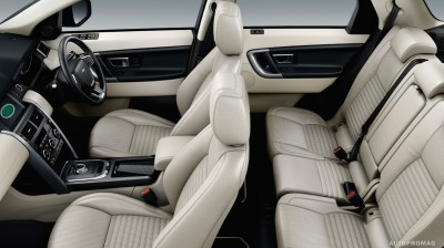 Land Rover Discovery Sport TD4 Interior