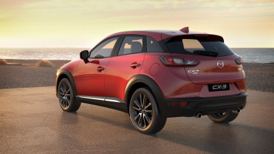 The Mazda CX-3 is ready to go anywhere.