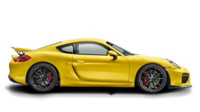 The Porsche Cayman GT4 looks as sizzling as its performance.