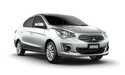 Mitsubishi Mirage Sedan: great value for money.