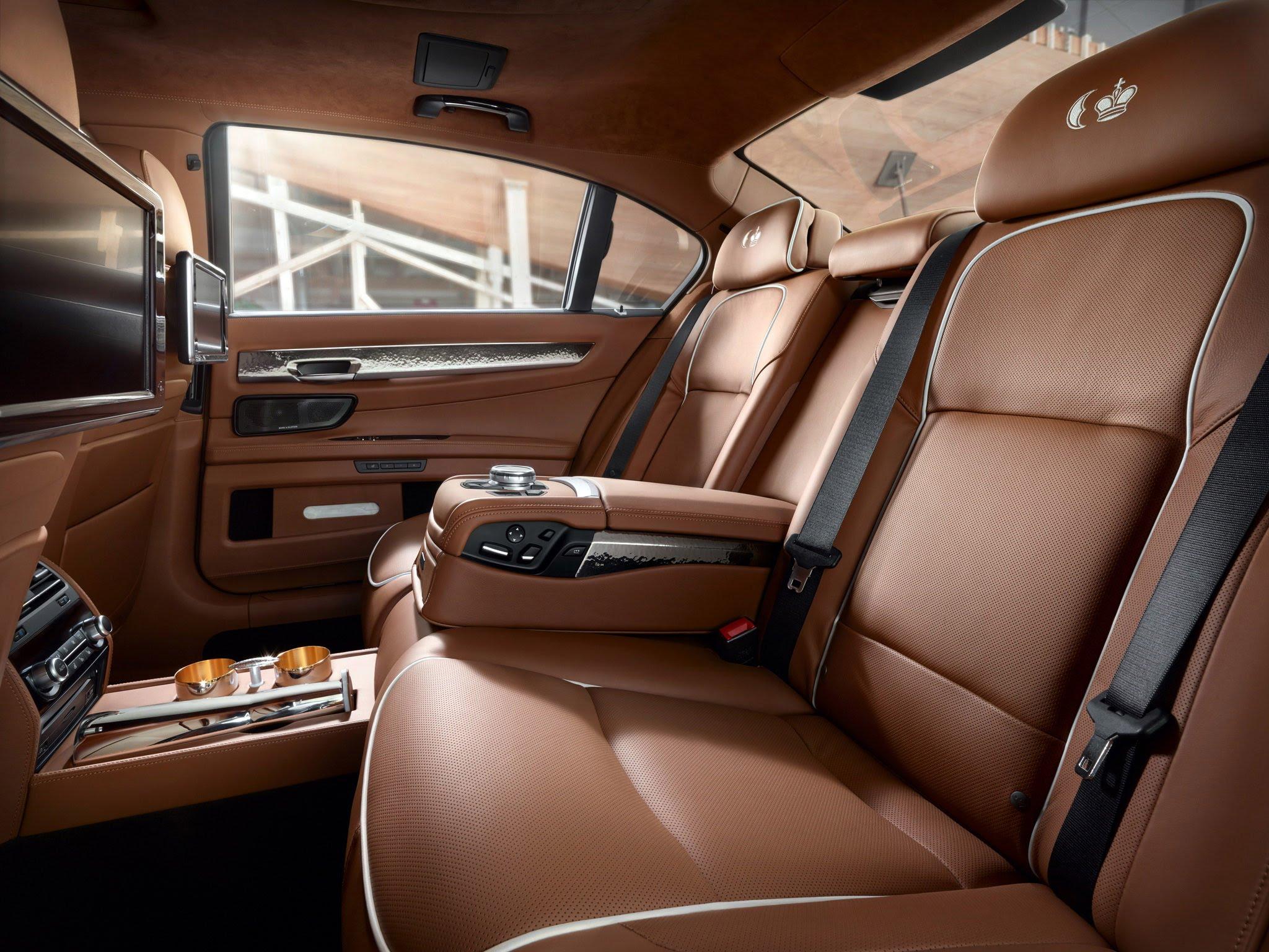 BMW 7 Series Petrol 2016 Interior