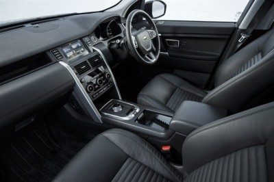 Land Rover Discovery Sport SD4 Interior