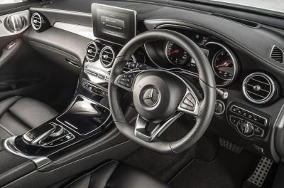 Mercedes Benz GLC SUV Diesel Interior