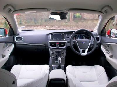 Volvo V40 Diesel Interior